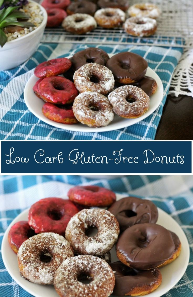 Low Carb Gluten-Free Donuts