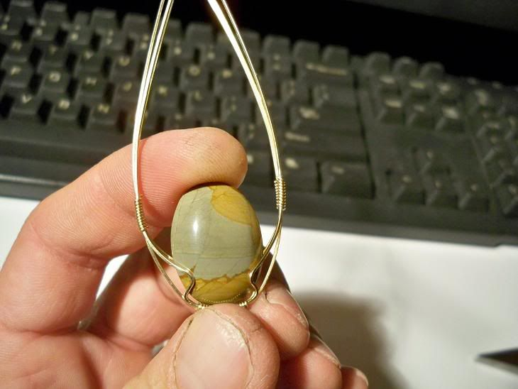 Complete tutorial to wire wrapping (58 pics)   Rock Tumbling Hobby
