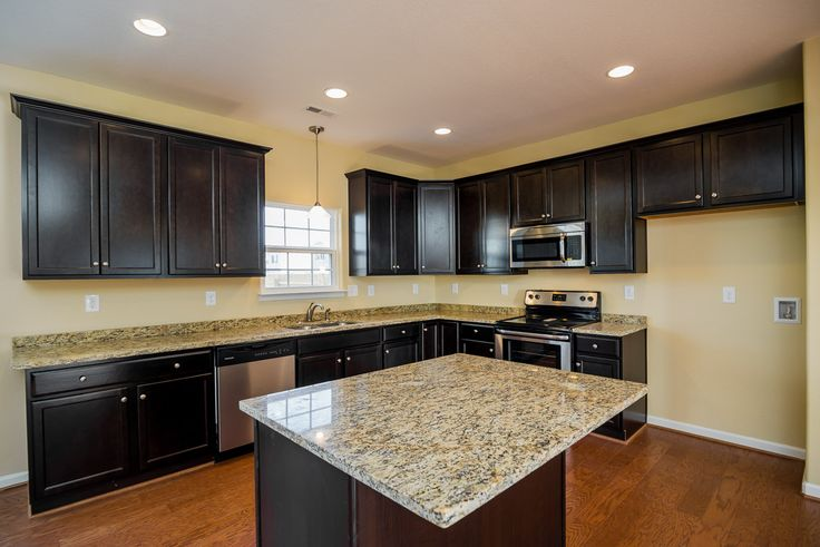 Superior Gorgeous Kitchen With Custom Cabinets, Stainless Steel Appliances And Granite  Countertops. New Construction Homes With Quality Finishes In Norfolk VA