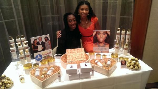 AfroDeity at Creme de la Femme networking for the Best and Brightest Black British Women