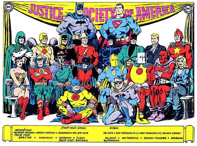 The ORIGINAL JSA (Justice Society Of America). I have always loved the JSA.