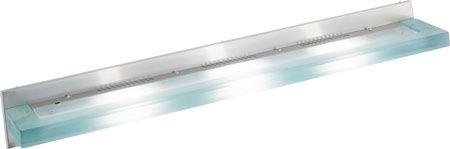 Slim 36 inch Modern Vanity Light with Acid Frost Glass