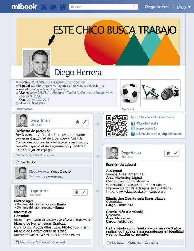 Diego Herrera nos envía su CV. ¿Qué te parece?