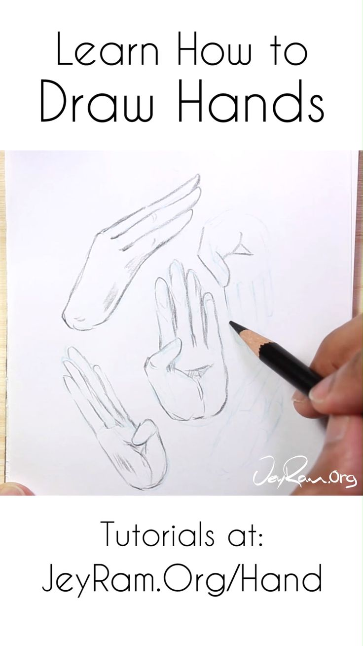 How to draw hands printable workbook pdf jeyram art