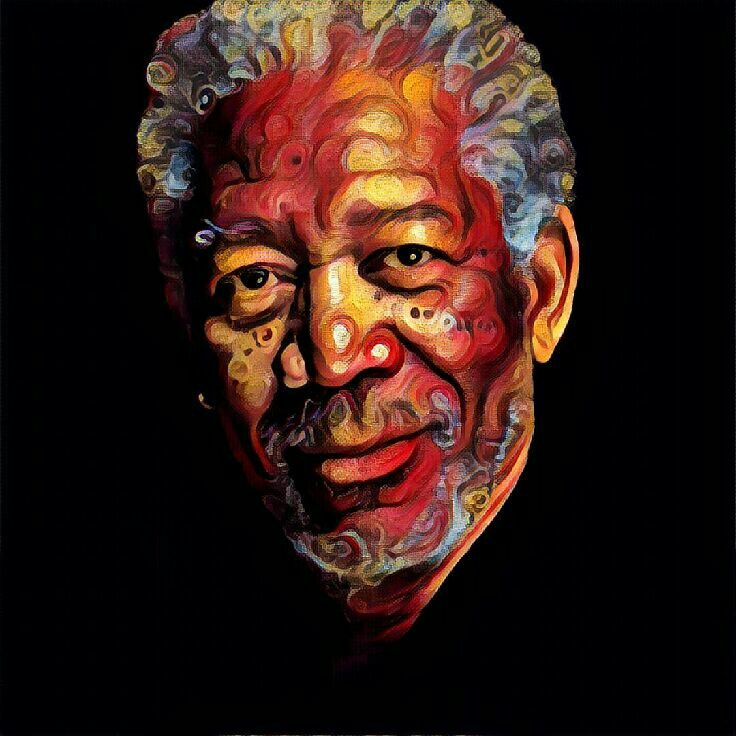 Morgan Freeman #myartpic