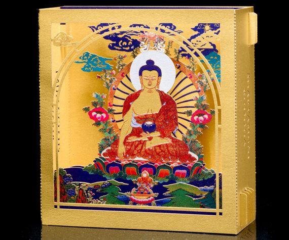 Buddha Gifts, Buddhism, Gift for her, Buddha Art, Zen Arts, Yoga Gifts, Spiritual gifts, Buddhist gift,  Gift for him, Meditation Gifts Gold