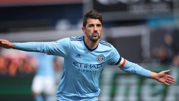 David Villa signs contract extension with New York City FC