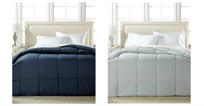 Lightweight Microfiber King Comforter Only $19.99! Down From $100!