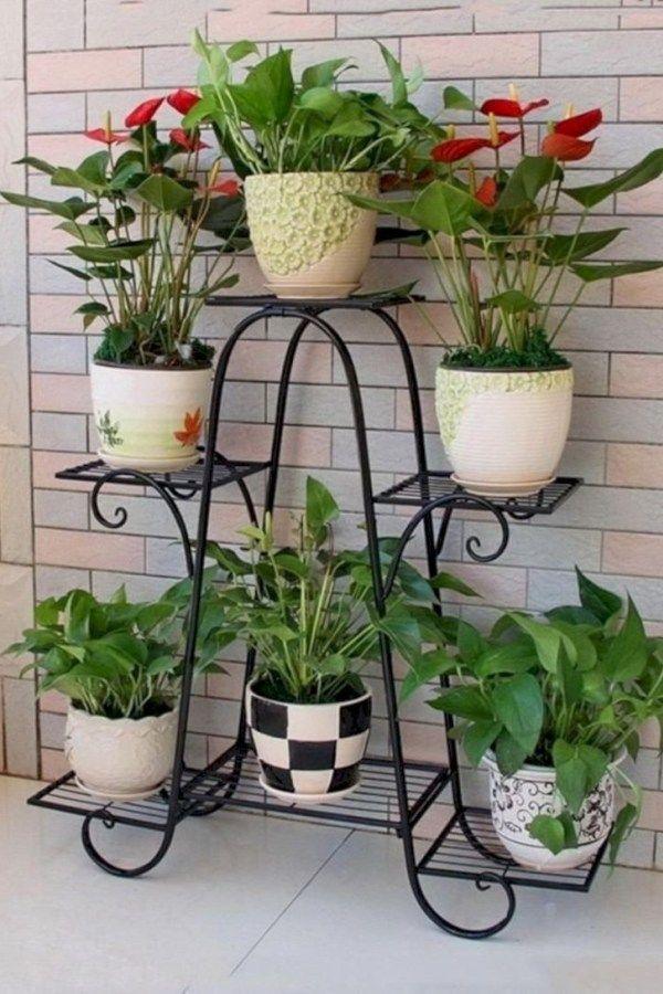 39 Modern Flower Pots Ideas For Indoor Use In 2020 Flower Pots Plant Stand Flower Pot Holder