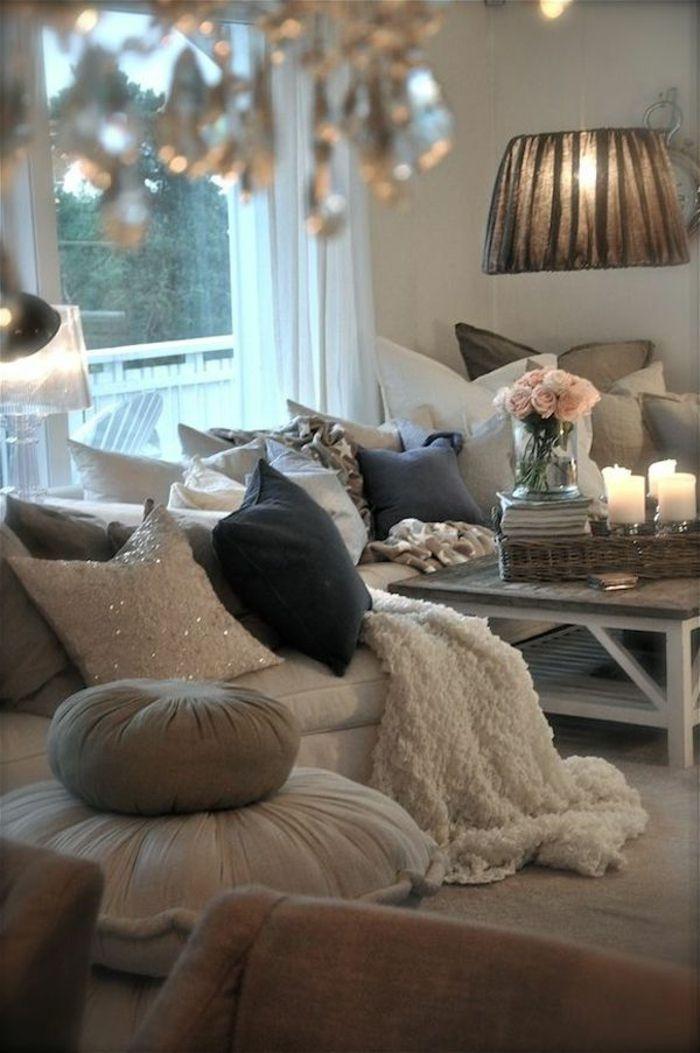Amenagement chambre ambiance romantique