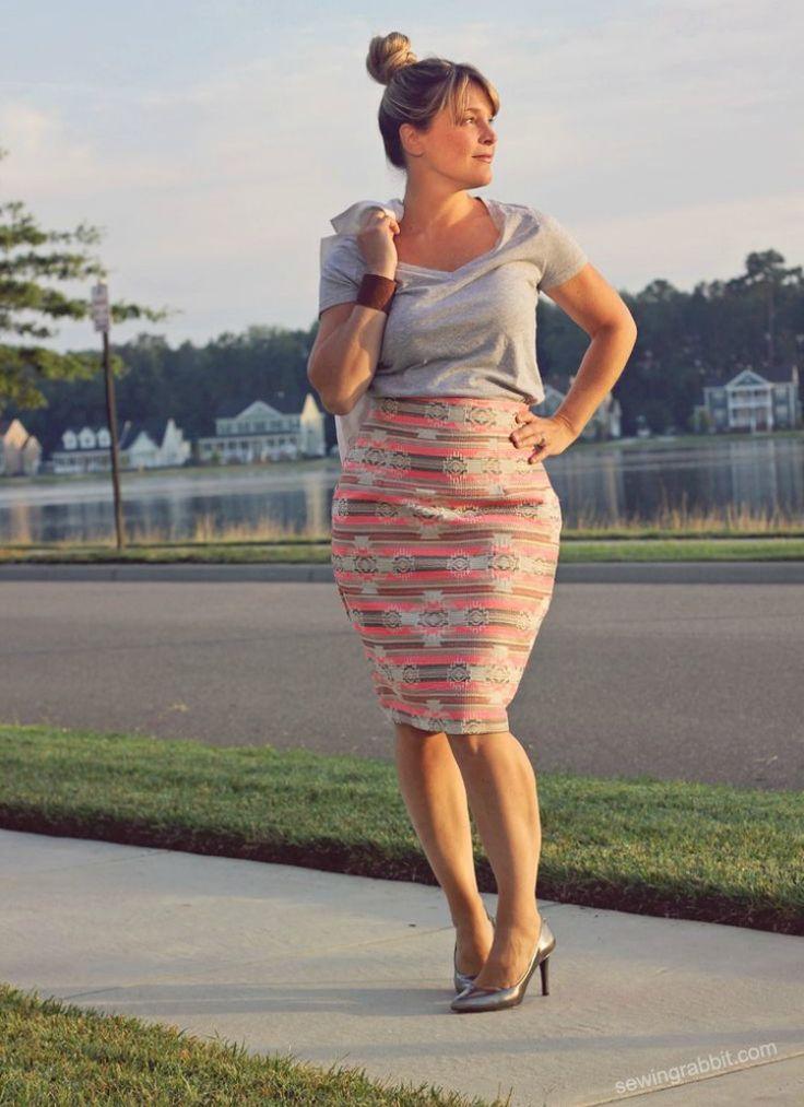 10 moderne Schnittmuster für vollschlanke Frauen
