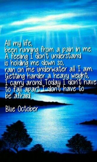 Blue October ~ Fear