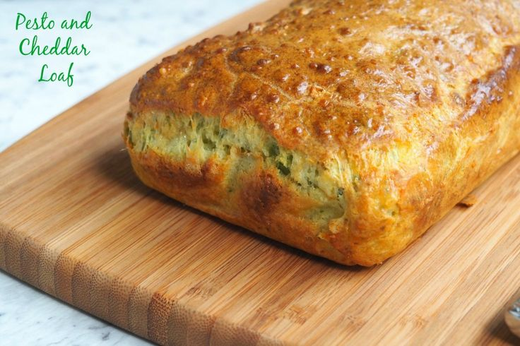 Pesto and Cheddar Loaf