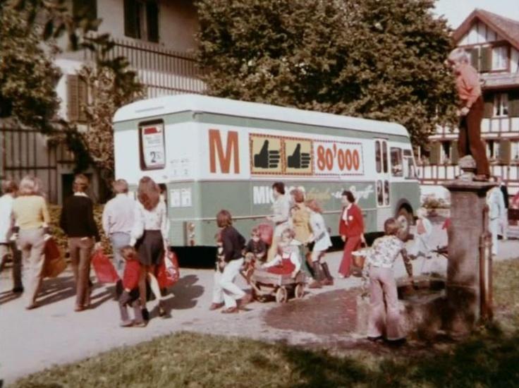 Revival of migros. lastwagen