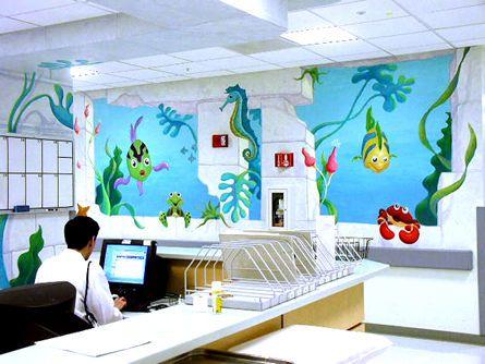 Colorful Playroom Wallpaper