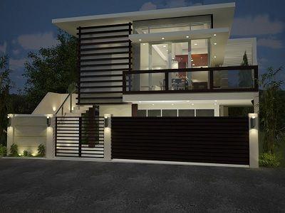 Desain Pagar Rumah Batu Alam Jual Batu Alam