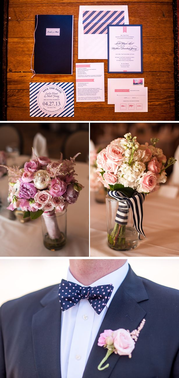 Preppy and Pink Real Wedding ////  Photography: Kristen Penner Photography | Venue: The Union Club | Floral Design: Paradise Flowers