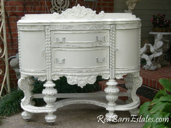 Rococo style buffet. WOW! Gorgeous. Just breathtaking!