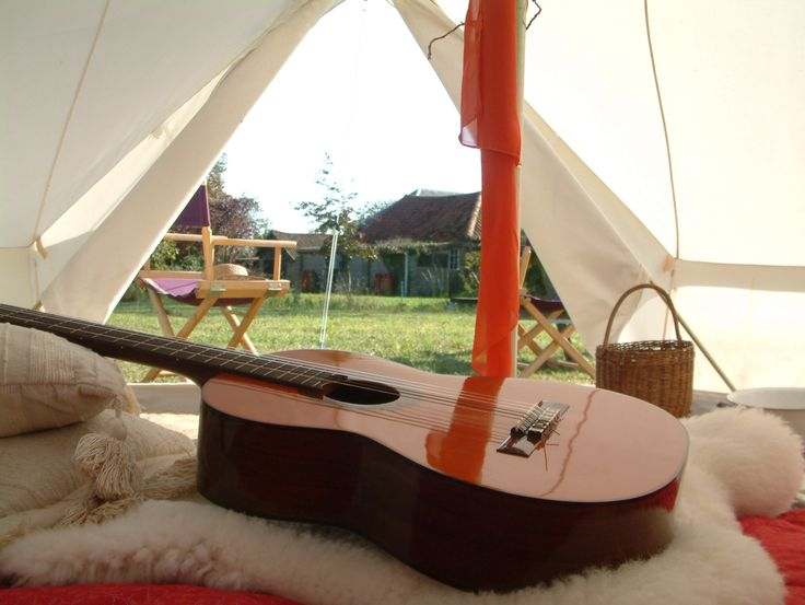 Live the dream – Chill in style!  Pukka 5M Zipped bell tent www.pukkatents.co.uk