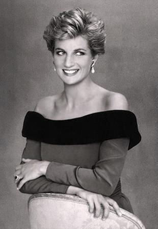 Princess Diana.One of the best photos of her I've seen, I saw her & Charles in London years ago.I'm so glad we waited with all the other thousands of people outside the theature that night. I would never have thought she would die so young & in something so preventable as a car crash.