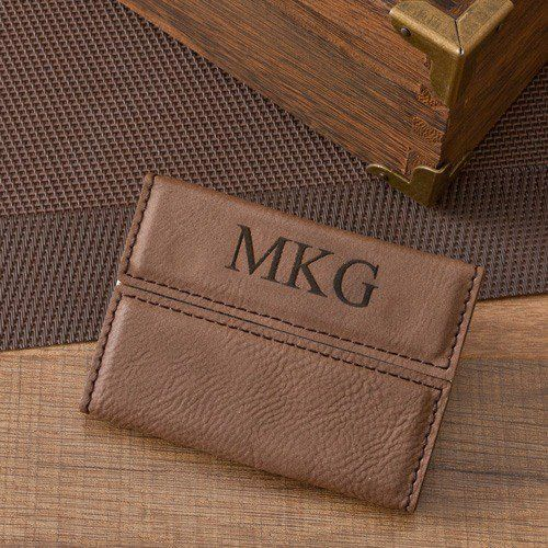 Personalized Business Card Holder by Beau-coup