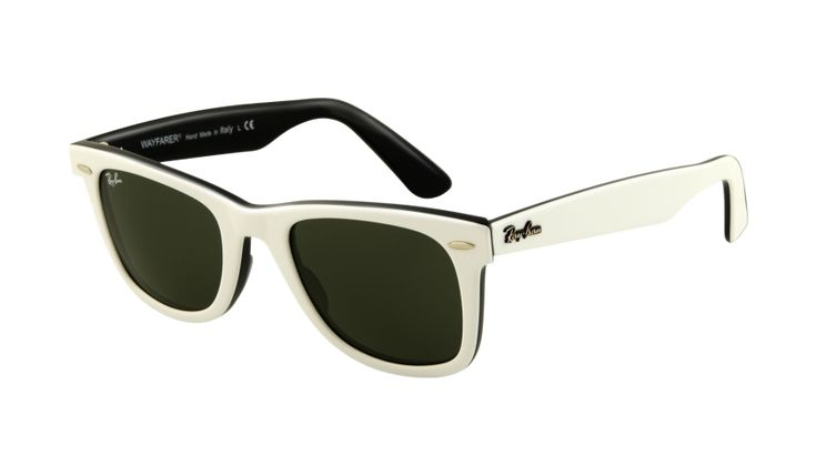 Original Wayfarer White / G-15 XLT - need a new pair since mine got thrown out a car window by someone who will remain unnamed.