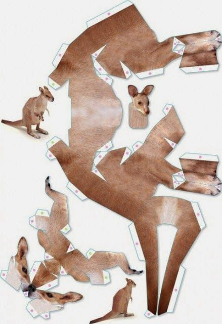 Eu Amo Artesanato: Känguruh