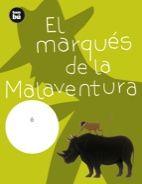 El marqués de la Malaventura, de Editorial Bambú - Literatura Infantil y JuvenilEl Marqués de la Malaventura colecciona animales disecados. Entre sus trofeos falta el rinoceronte negro. Dispuesto a cazarlo, el marqués hace las maletas y embarca hacia África. En su viaje, un extraño pasajero, el loro del capitán, descubre sus malas intenciones y decide advertir al rinoceronte de la llegada del marqués. ¿Y qué hará el rinoceronte para salvarse?.