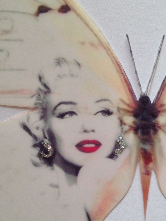 Red Lipstick Marilyn Monroe Quote Print by MyButterflyLove on Etsy