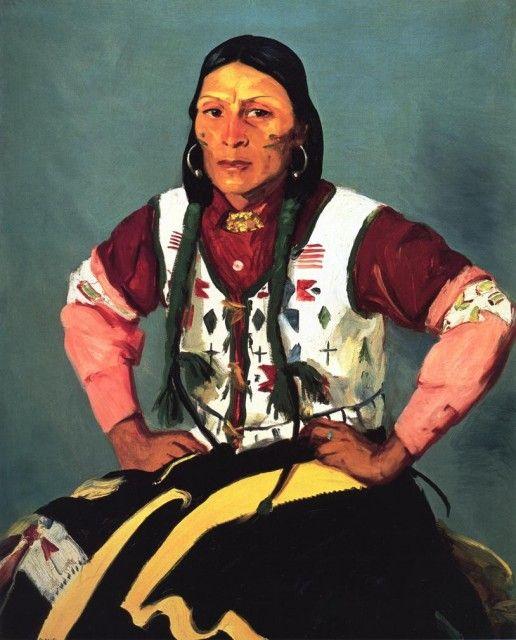 robert henri paintings | Robert Henri - Po-Tse-Water Eagle :: Robert Henri :: Allpaintings Art ...
