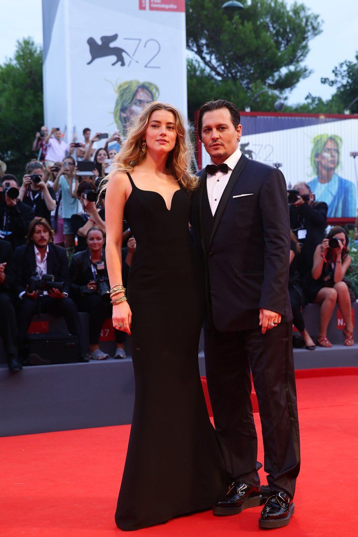 Pin for Later: Johnny Depp and Amber Heard Share the Look of Love on the Red Carpet