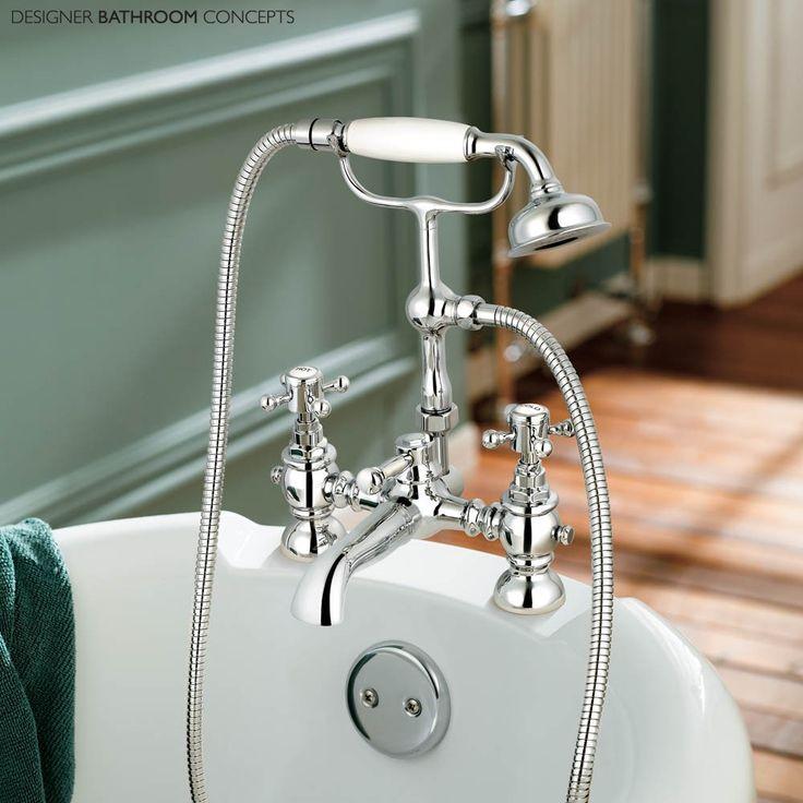 Canterbury Designer Bath Shower Mixer Tap from DesignerBathroomConcepts.com