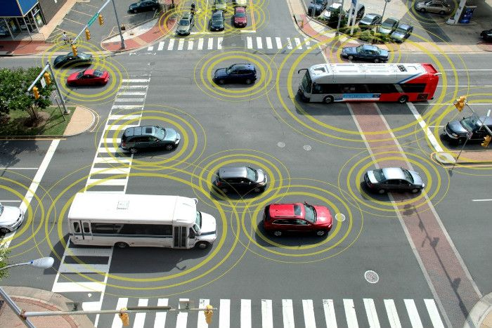 Connected vehicles could possess the key to untangling some of the problems society will face as urban centres grow and can also provide a boon to business.