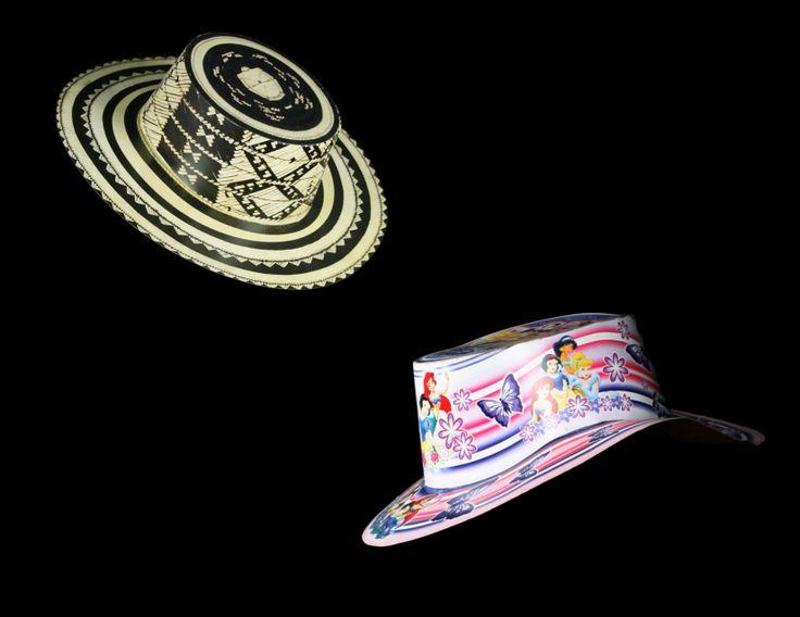 Fotografía y montaje.. Sombreros para fiesta 3.