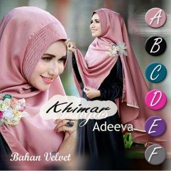 Temukan dan dapatkan Jilbab Hijab Kerudung Jilbab Bergo jilbab Instan Hijab Khimar Adeva 4UNF hanya Rp 63.700 di…