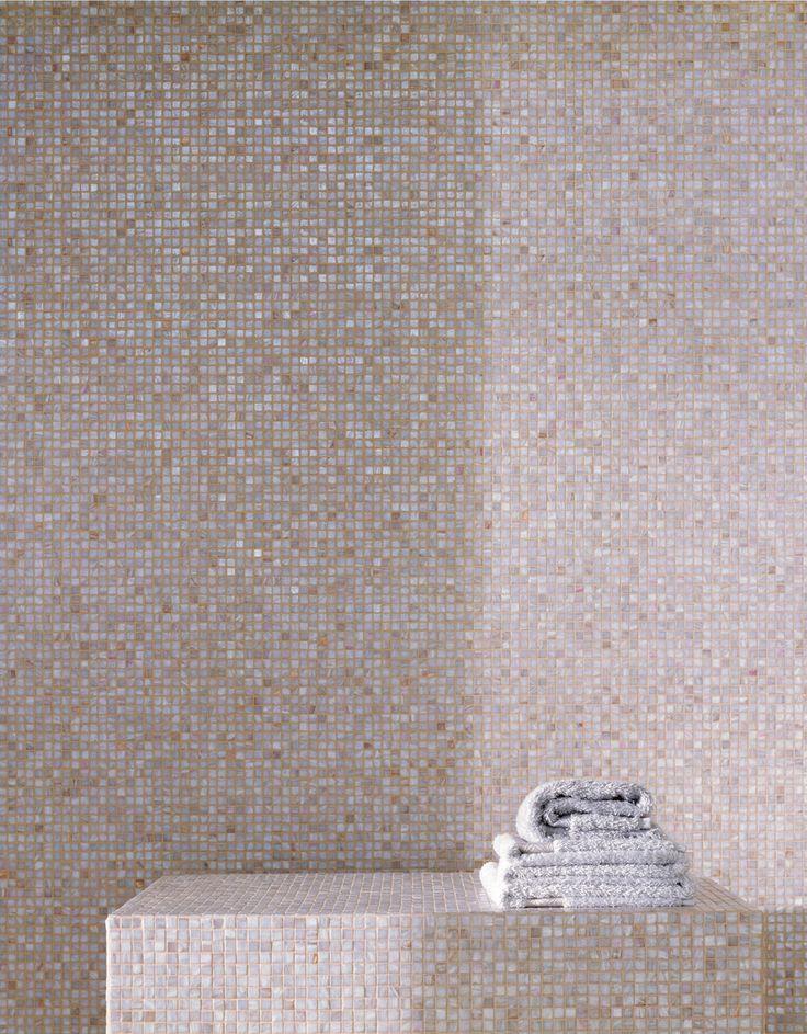 Bisazza Mosaics- Pink bathroom