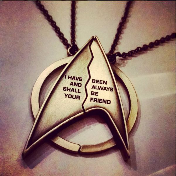 We're still in LOVE with our Star Trek friendship necklace from January's crate. Get your loot Loot for Her for $14.99 a month! #lvlup