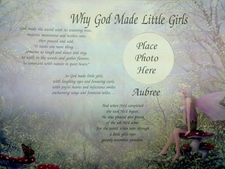 Short Poems for New Baby   ... Made Little Girls ...