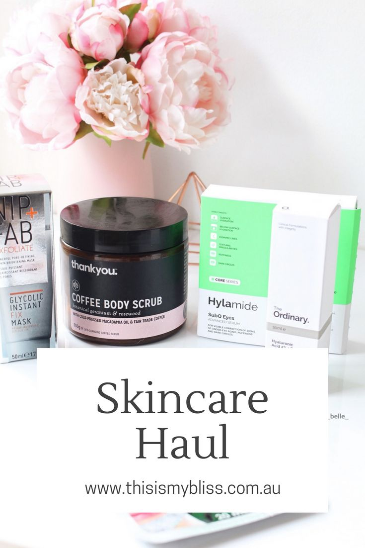 Haul | Priceline 40% Off Skin Care Sale – This is my bliss