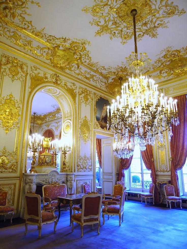 Paris, o Hôtel de Lassay, salão des elementos, Jules Degoullons, Mathieu Le Goupil et Jules de Joly, 1726-1730 et 1845-1848