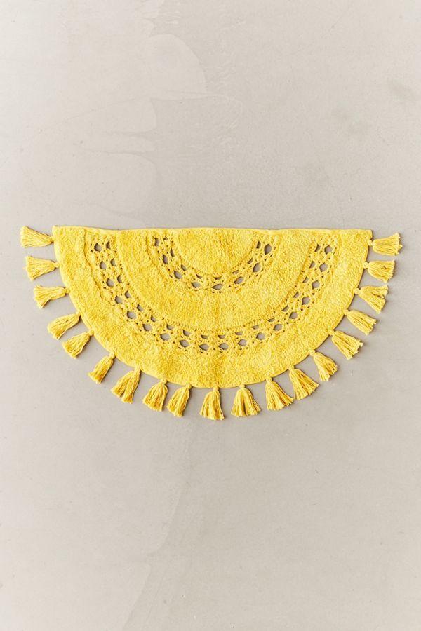 Crochet Sun Bath Mat Urban Outfitters Crochet Crochet Mat Circle Rug