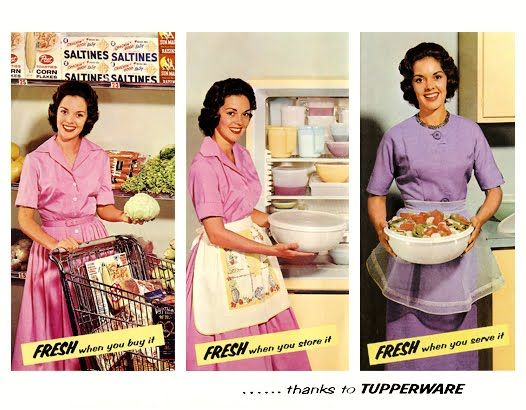 http://prettypinteresting.com/2014/08/29/5-things-to-learn-in-direct-sales/ tupperware circa 1950, old direct sales, tupperware parties