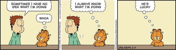 Garfield by Jim Davis for Feb 17, 2018 | Read Comic Strips at GoComics.com