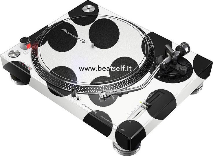 Pioneer DJ PLX Cow by www.beatself.it  Plx 500 disponibili da Settembre nella versione Nera e Bianca #plx #Pioneer #beatself #plxcow