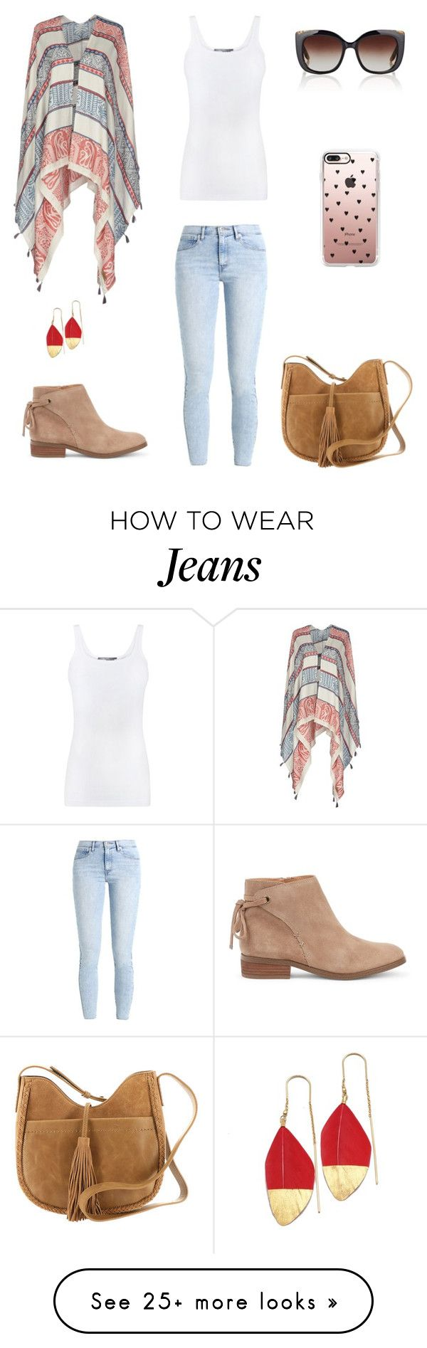 """""""Sans titre #1975"""" by wali-emna on Polyvore featuring Pepe Jeans London, Vince, Levi's, Sole Society, Lucky Brand, Casetify and Barton Perreira"""