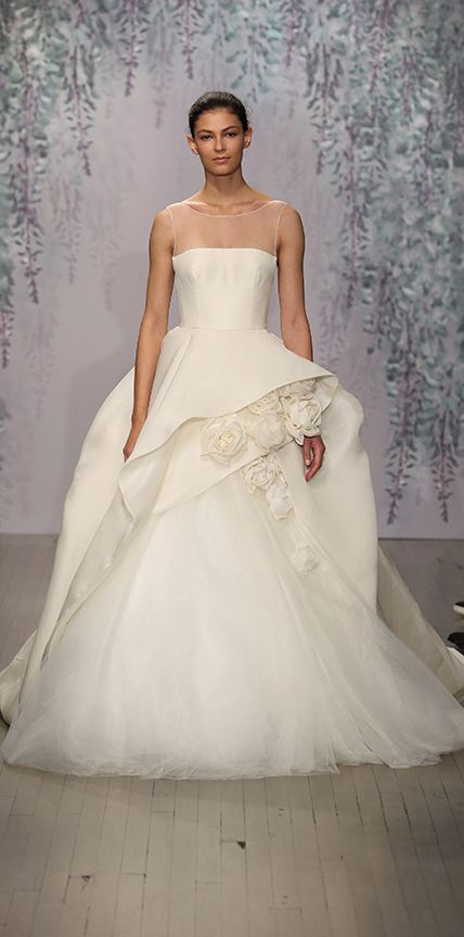 Our Favorite Fall 2016 Wedding Dresses from Bridal Fashion Week   InStyle.com Monique Lhuillier