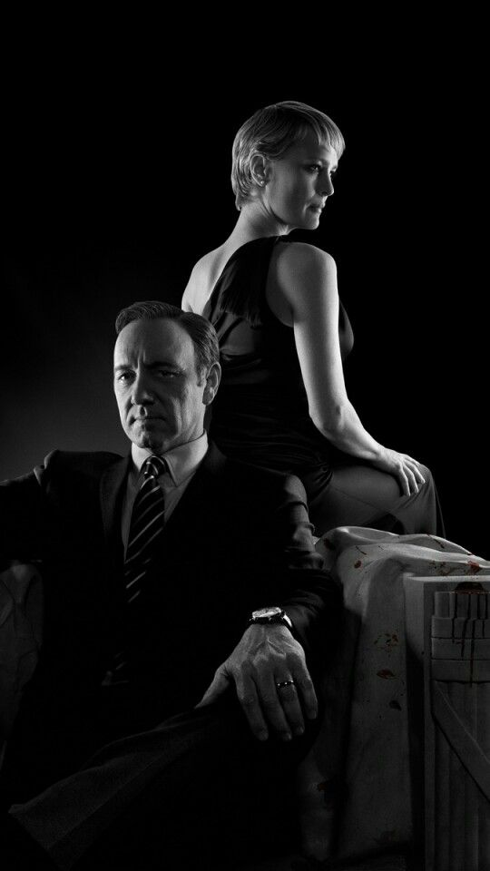 House of Cards Frank Underwook and Claire Underwood