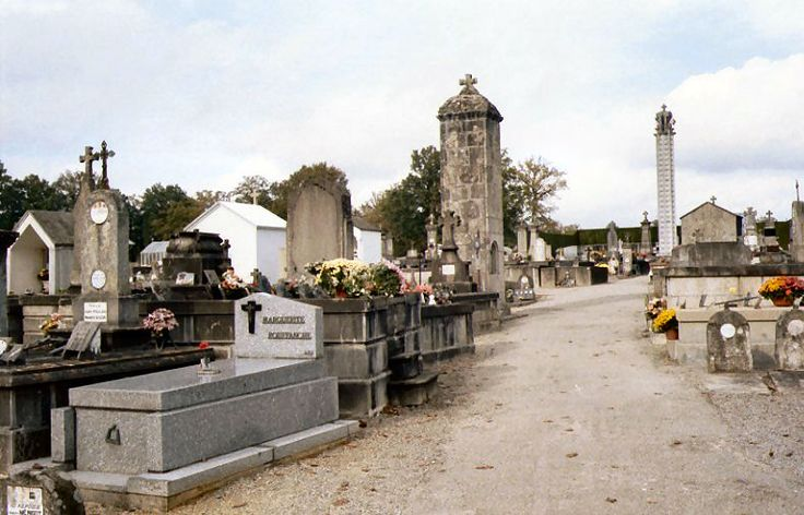 The grave of Madame Rouffanche