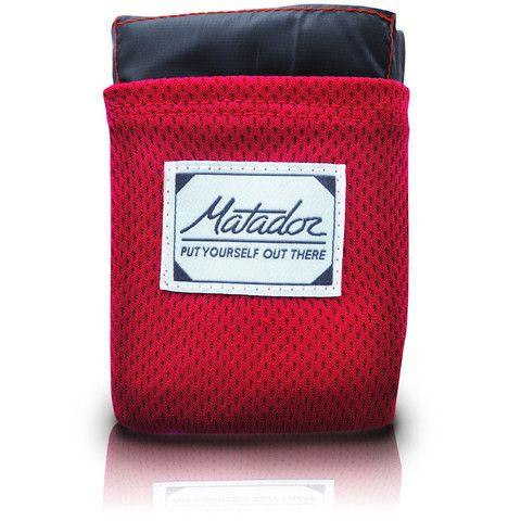 The ultralight way to enjoy the outdoors anytime, anywhere Matador Mini Pocket Blanket. Minimalism at its best. Water repellent, puncture resistant, extremely compact. Mini weighs only 37 grams. At 44