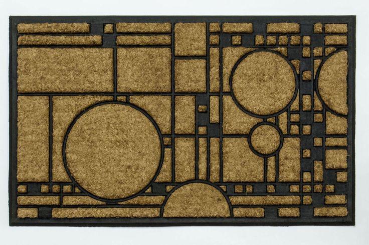 25 best ideas about coir rugs on pinterest coir doormats and welcome door mats - Frank lloyd wright rugs ...